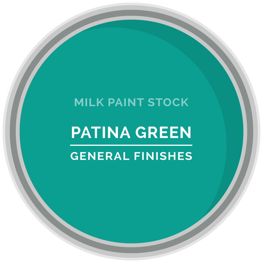 Stock Milk Paint Color Patina Green General Finishes
