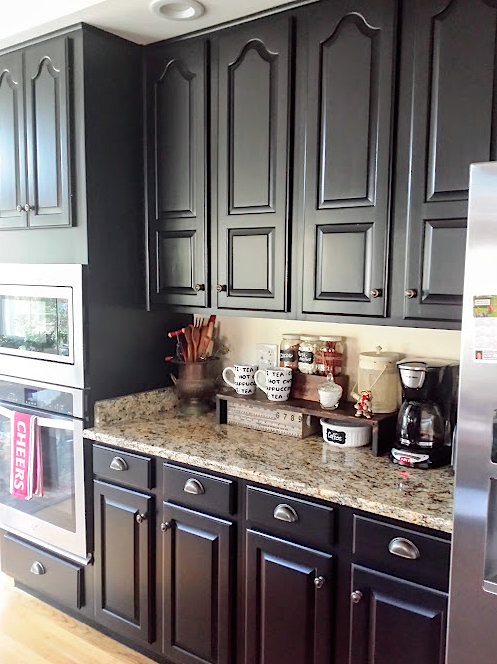 Kitchen Revitalization With Lamp Black General Finishes