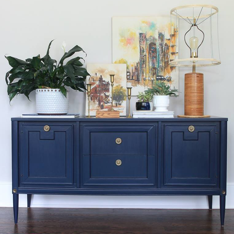 Coastal Blue Mcm Console General Finishes Design Center