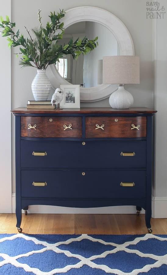 blue erin 20170220 saw nail and paint dresser1 coatal blue milk paint