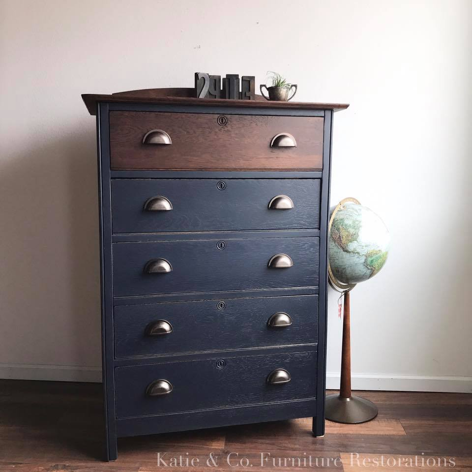 Navy Wood Stain