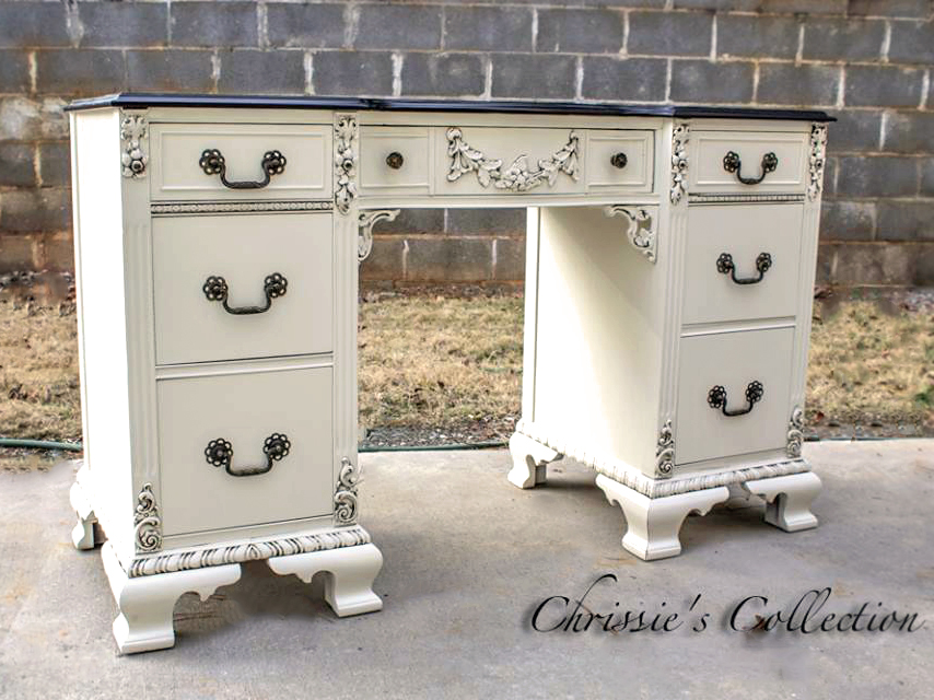 general finishes milk paint antique white glaze van brown gel stain java  desk collection home office . antique white writing desk ... - Writing Desk Hutch Antique White Chair Wood Office Home – Glorema.com