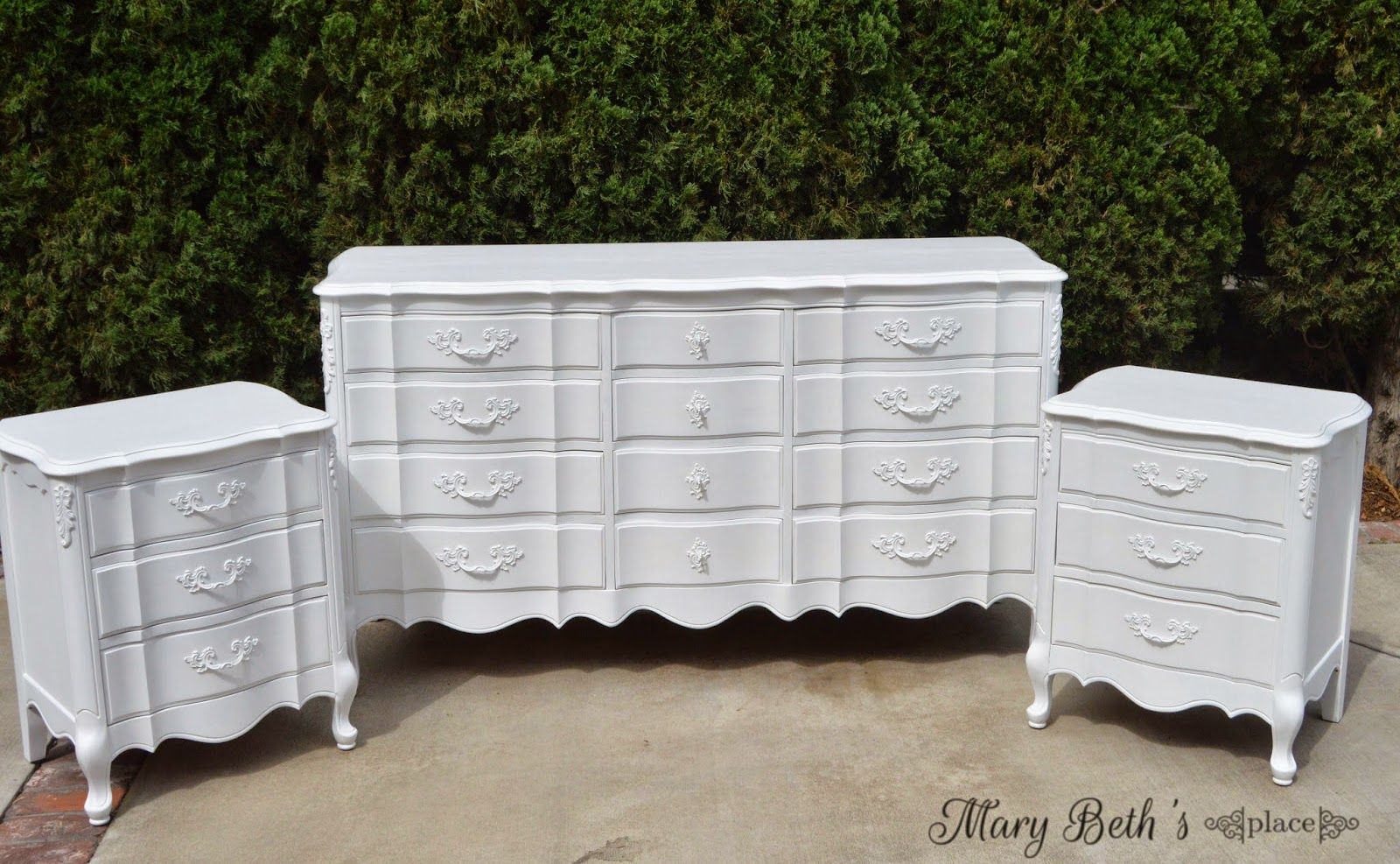 Snow White French Provincial Bedroom Set   General Finishes Design CenterSnow White French Provincial Bedroom Set   General Finishes Design  . French Provincial Bedroom Set. Home Design Ideas