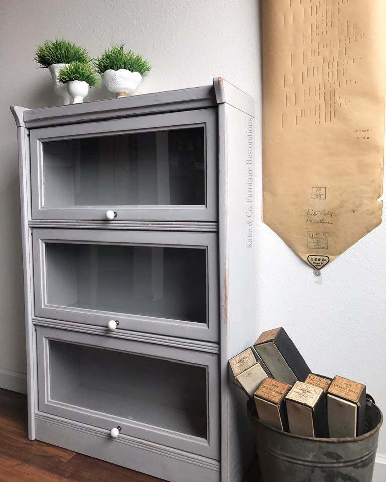 Is Mixing Kitchen Cabinet Finishes Okay Or Not: Cabinet In Seagull Gray & Lamp Black Custom Color Mix
