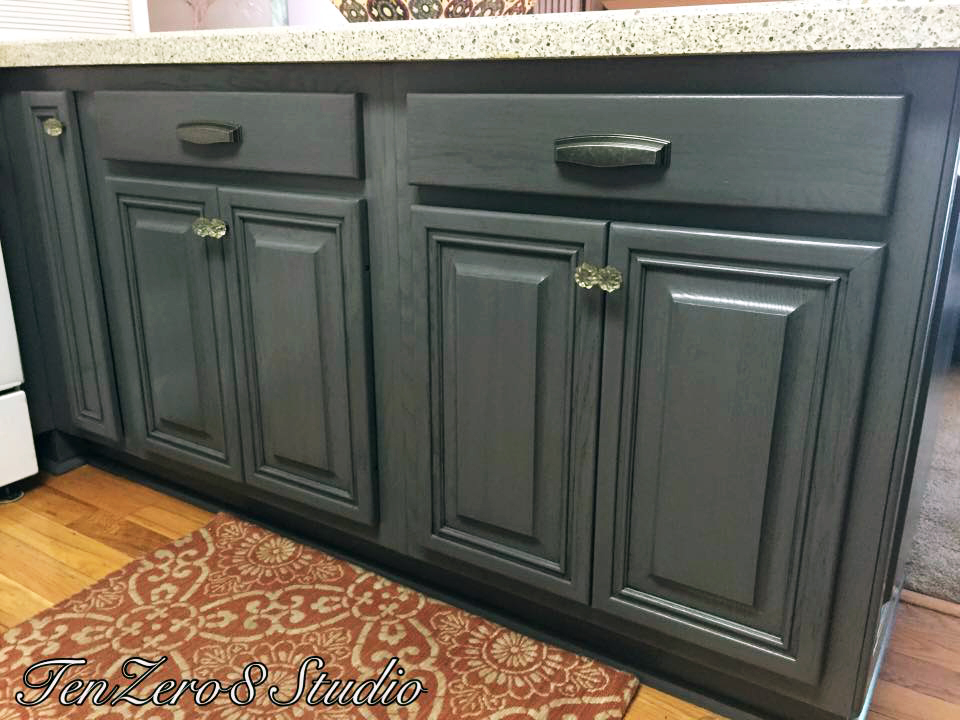 How To Milk Paint Kitchen Cabinets