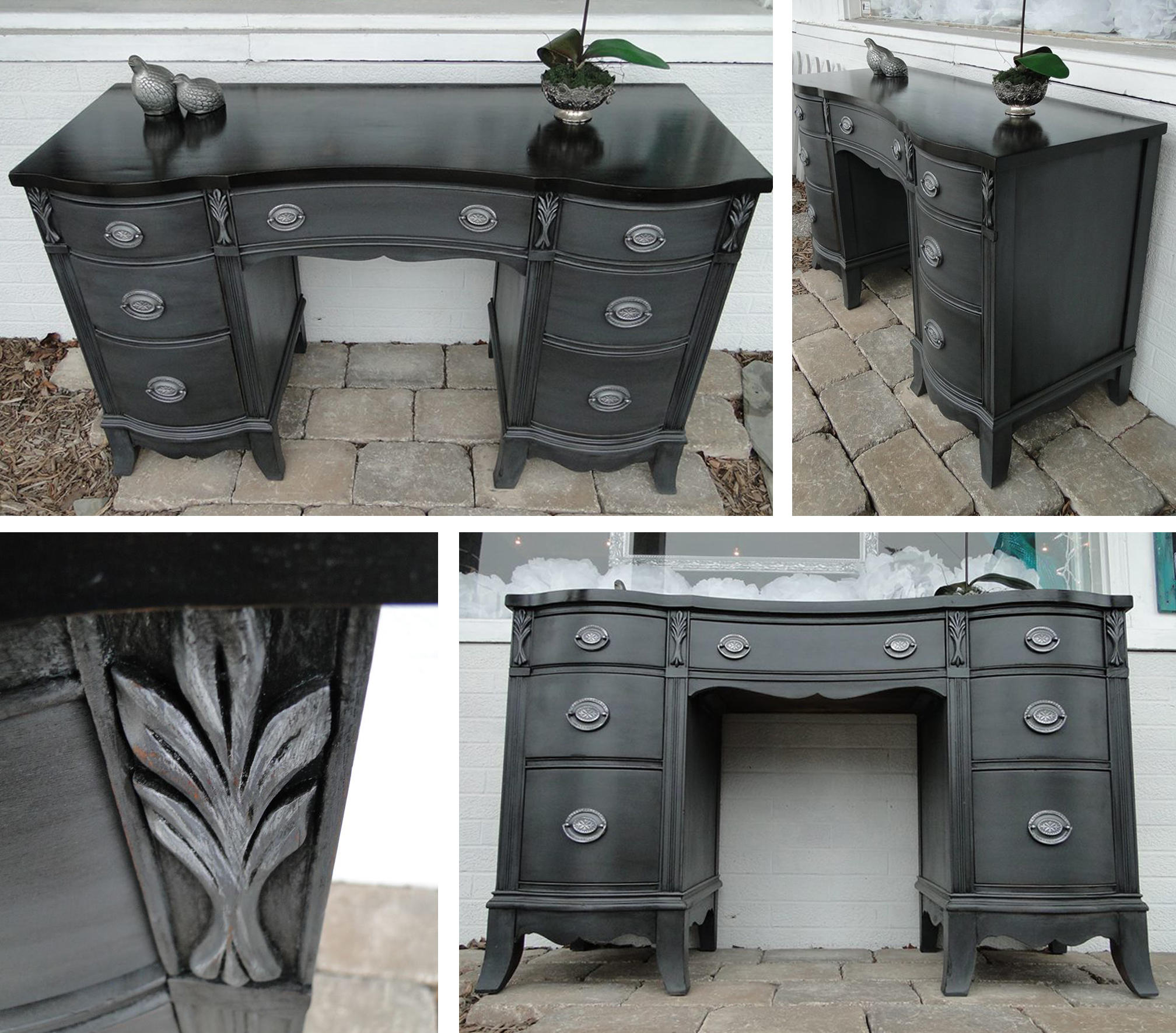 Gorgeous Gray Desk General Finishes Design Center