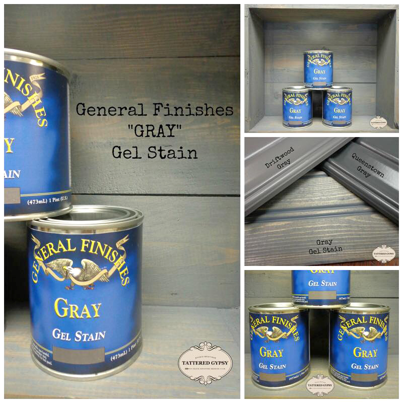Gray Gel Stain General Finishes Design Center