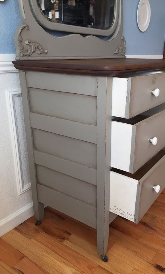 Empire Gray Dresser General Finishes Design Center