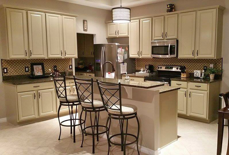 kitchen makeover in millstone milk paint general finishes design