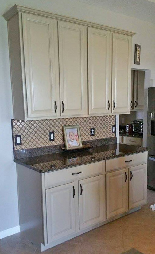 How To Chalk Paint Kitchen Cabinets White