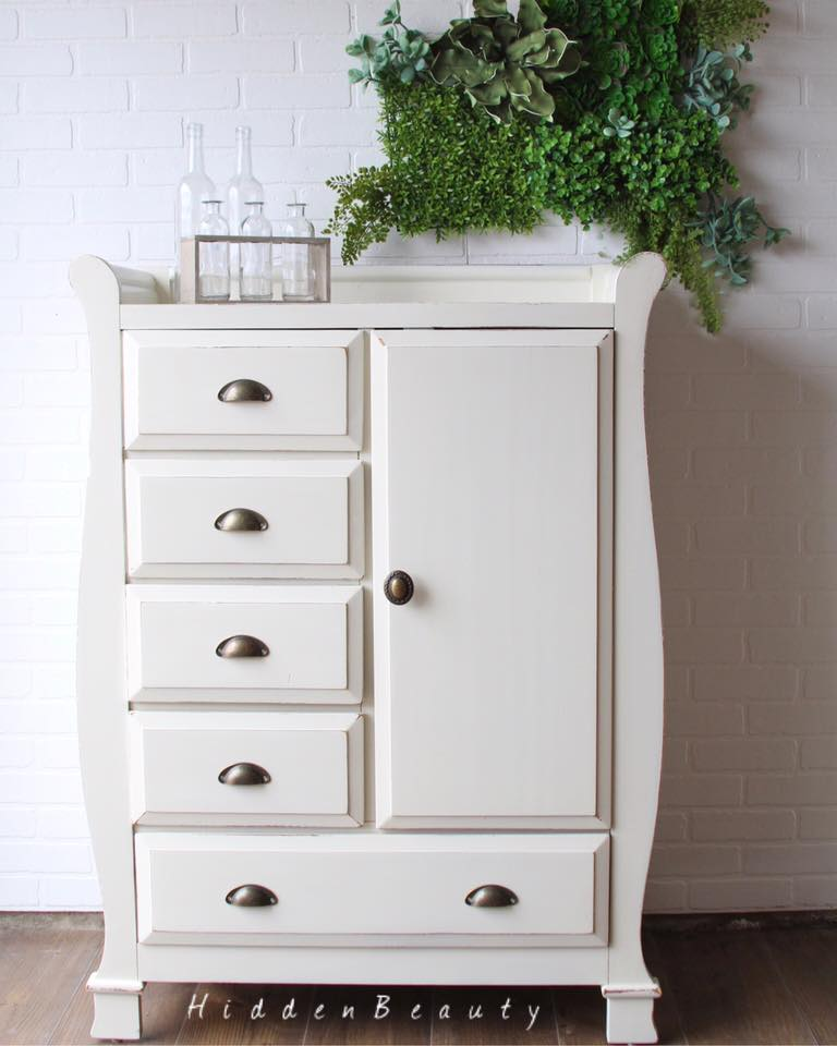 Cabinet in Antique White | General Finishes Design Center
