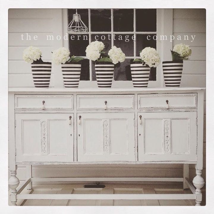 Buffet in Snow White Milk Paint | General Finishes Design ...