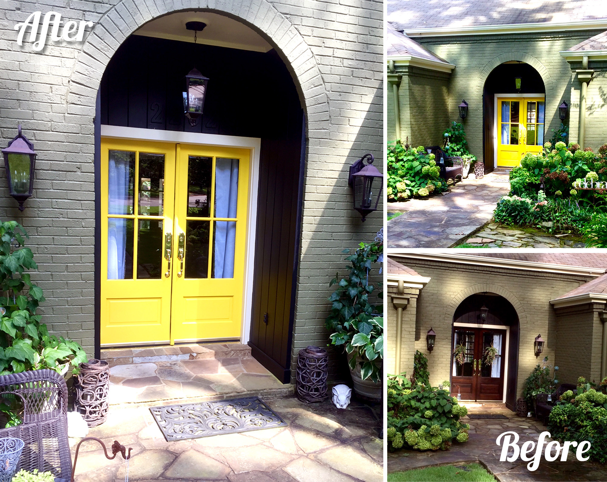 Stunning Front Door Restyle General Finishes Design Center