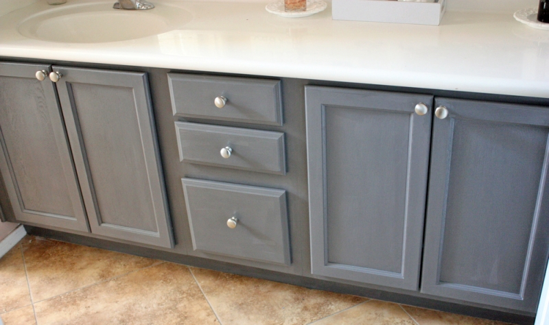 Driftwood bathroom vanity general finishes design center Best paint finish for bathroom