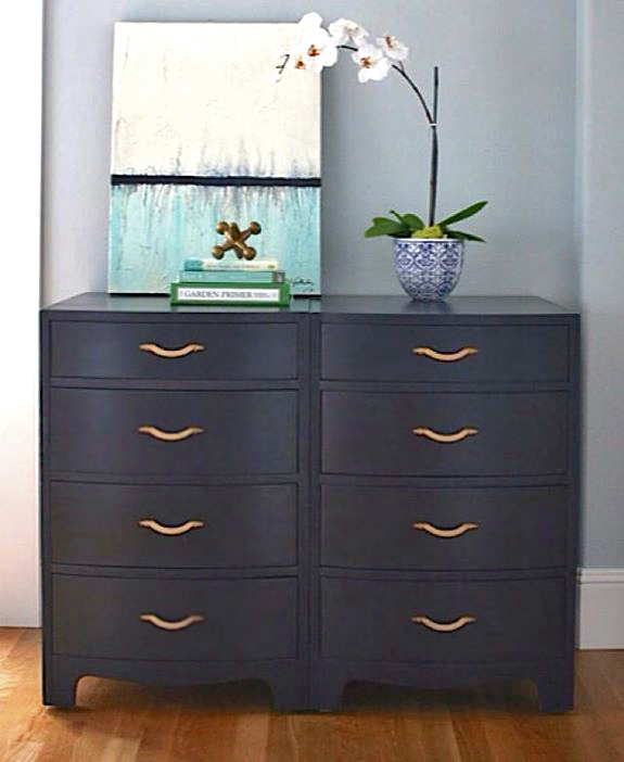 Vintage Chests In Coastal Blue Milk Paint General