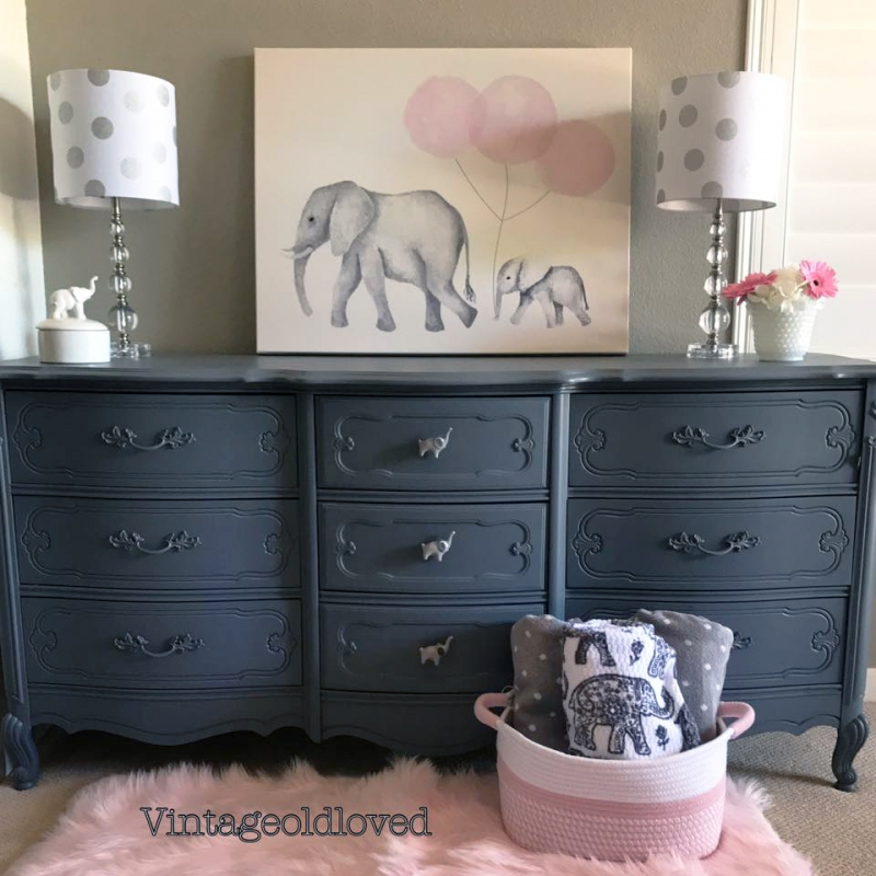 Queenstown Gray Quot Elephant Quot Dresser General Finishes