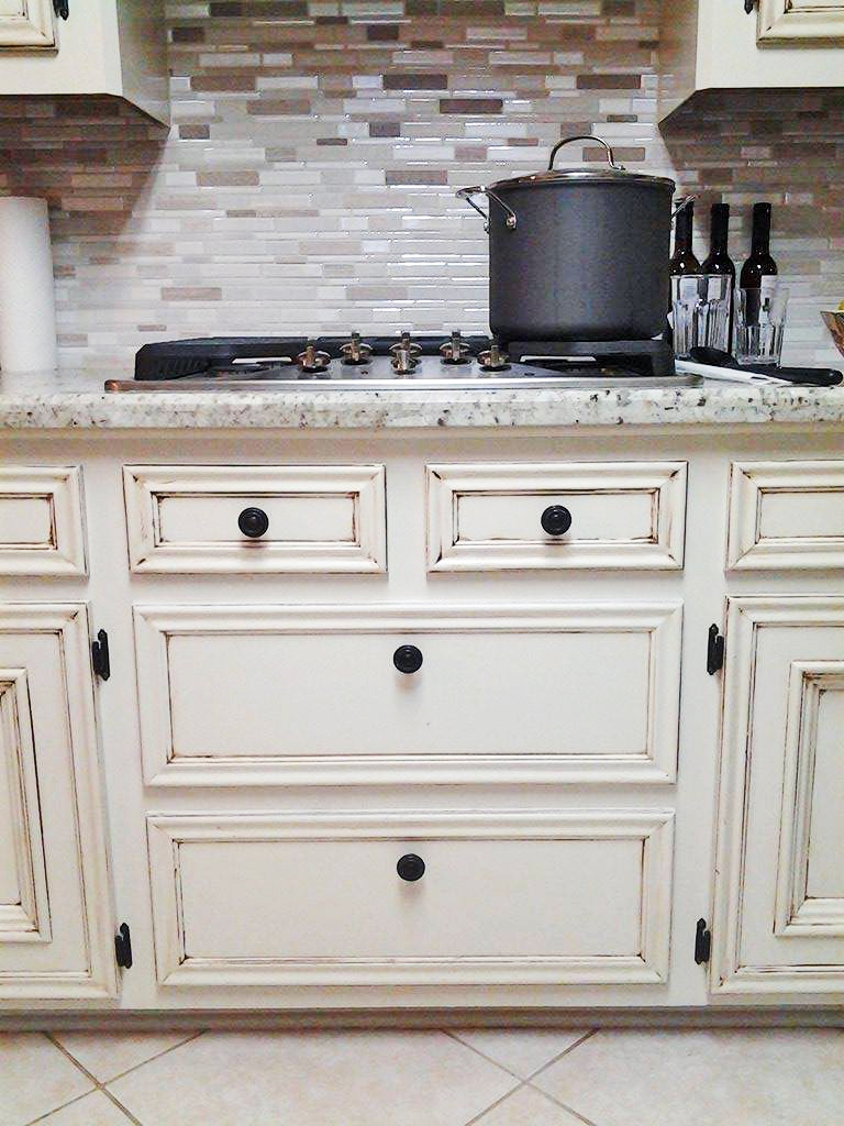 Antique White Kitchen Makeover General Finishes Design