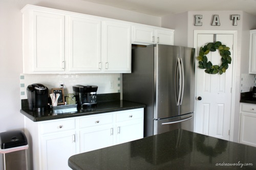 kitchen in snow white milk paint general finishes design center