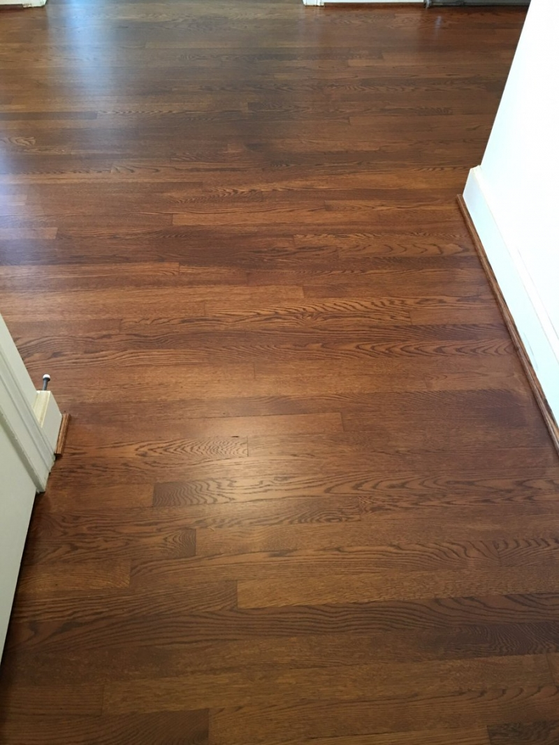 White oak floors in antique brown pro floor stain pro for Antique wood flooring