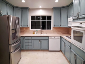 general finishes milk paint kitchen cabinets. persian blue milk painted kitchen cabinets general finishes paint r