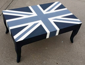 Furniture Design Ideas Featuring Union Jacks And Flags General Finishes Design Center