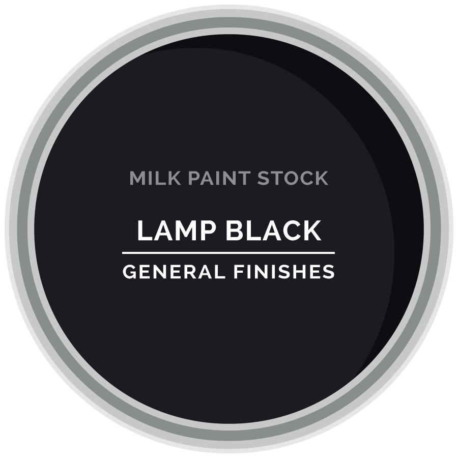 Stock Milk Paint Color Lamp Black General Finishes