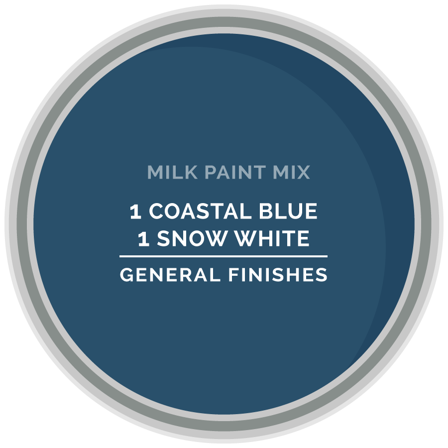 Custom Color Mix Blues General Finishes Design Center