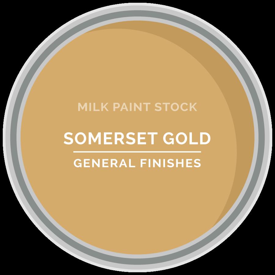 Stock Milk Paint Color: Somerset Gold   General Finishes Design Center