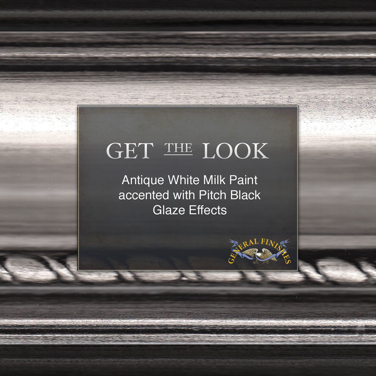 Get The Look Antique White Milk Paint With Pitch Black