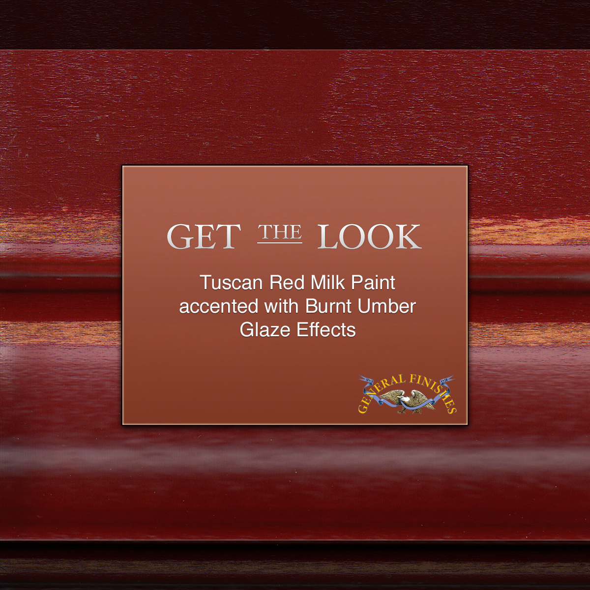 Get The Look Tuscan Red Milk Paint Accented With Burnt