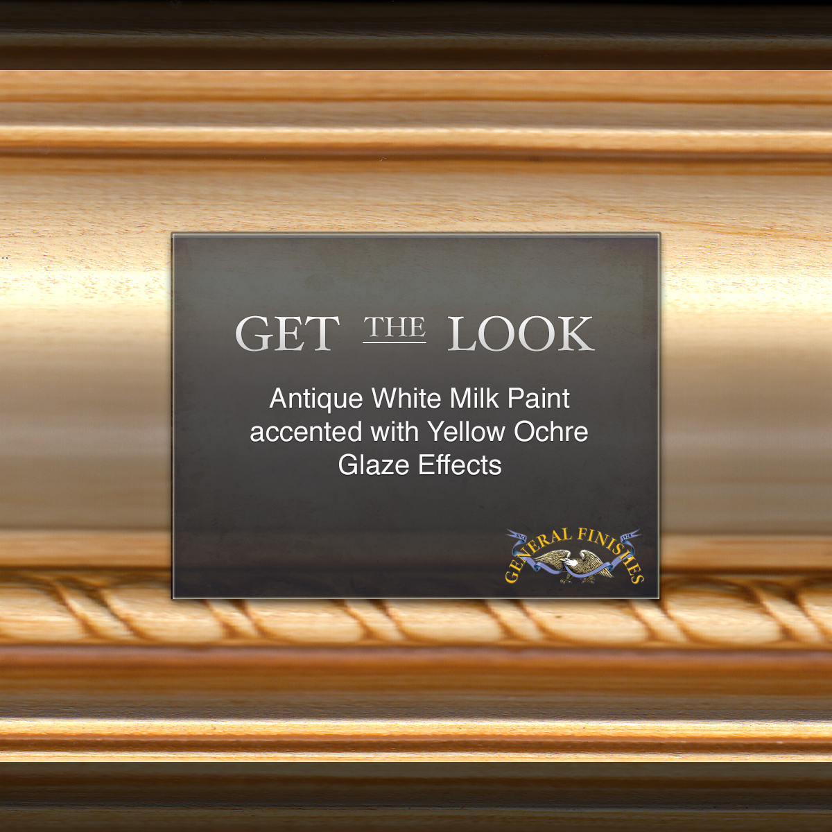 Get The Look: Antique White Milk Paint with Yellow Ochre Glaze ...