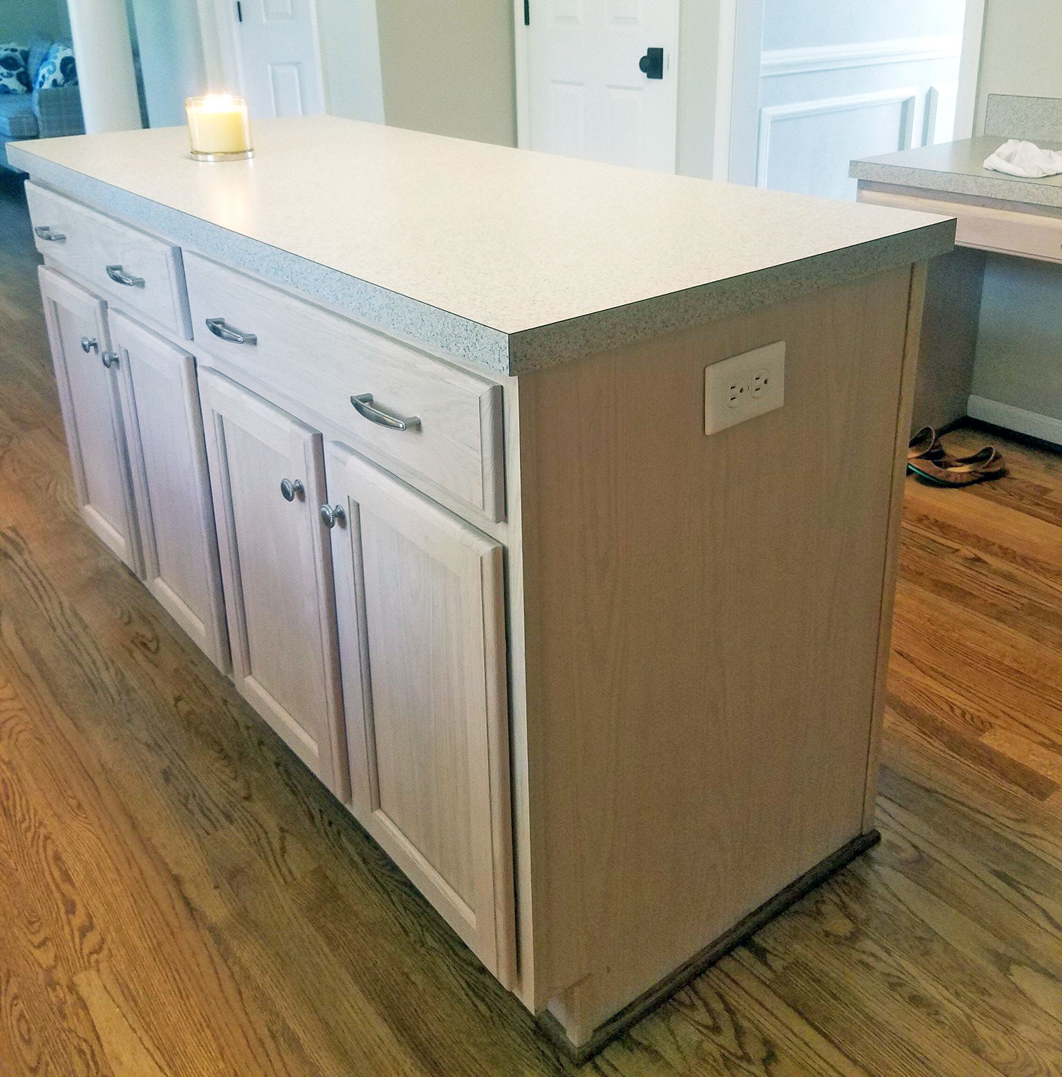 Best Water Based Paint For Kitchen Cabinets Uk: Snow White Kitchen Cabinet Transformation
