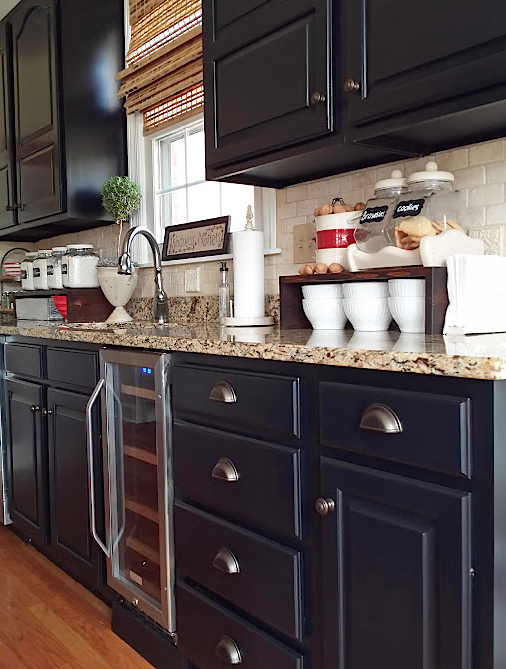 Kitchen Revitalization with Lamp Black | General Finishes ...
