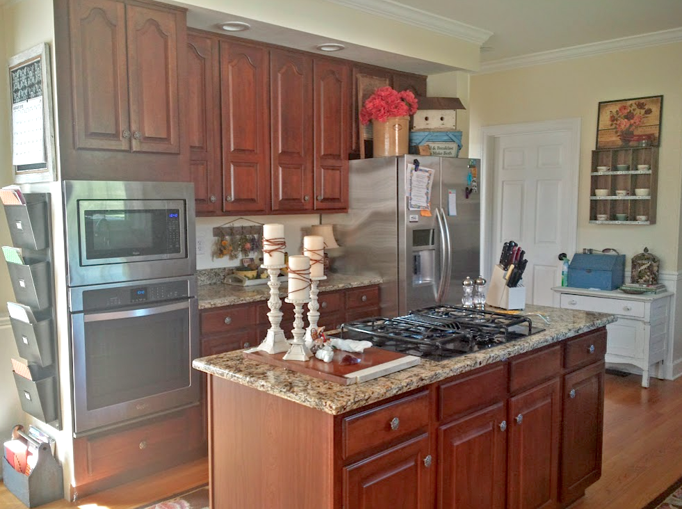 Kitchen Revitalization with Lamp Black   General Finishes ...