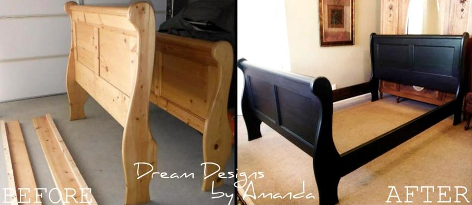 Beautiful Matte Black Bed Frame General Finishes Design
