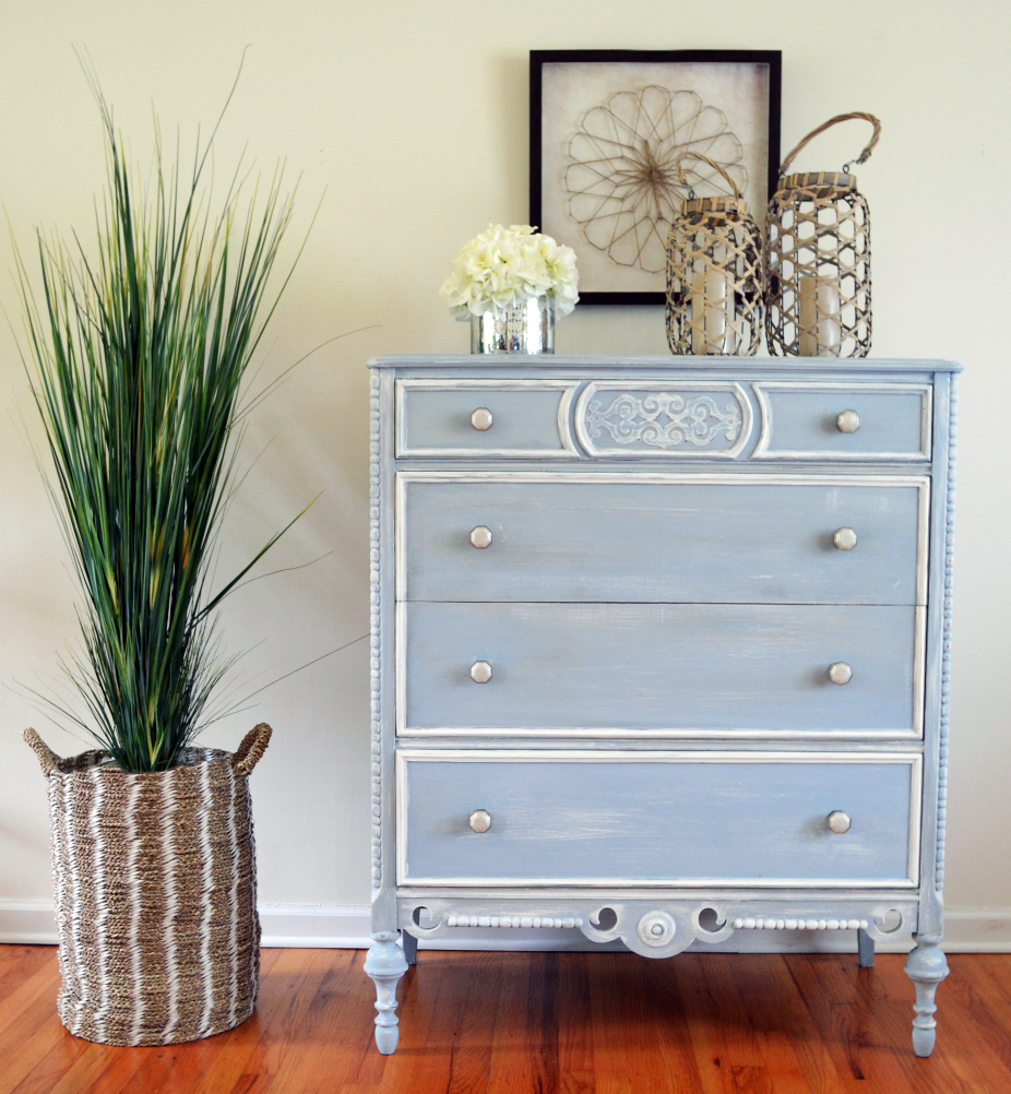 Summertime Blue Chalk Style Paint General Finishes