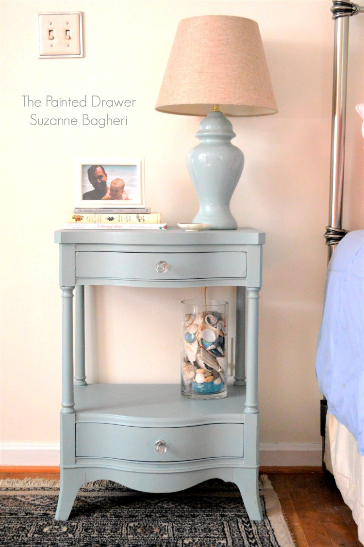 Persian Blue Nightstand General Finishes Design Center