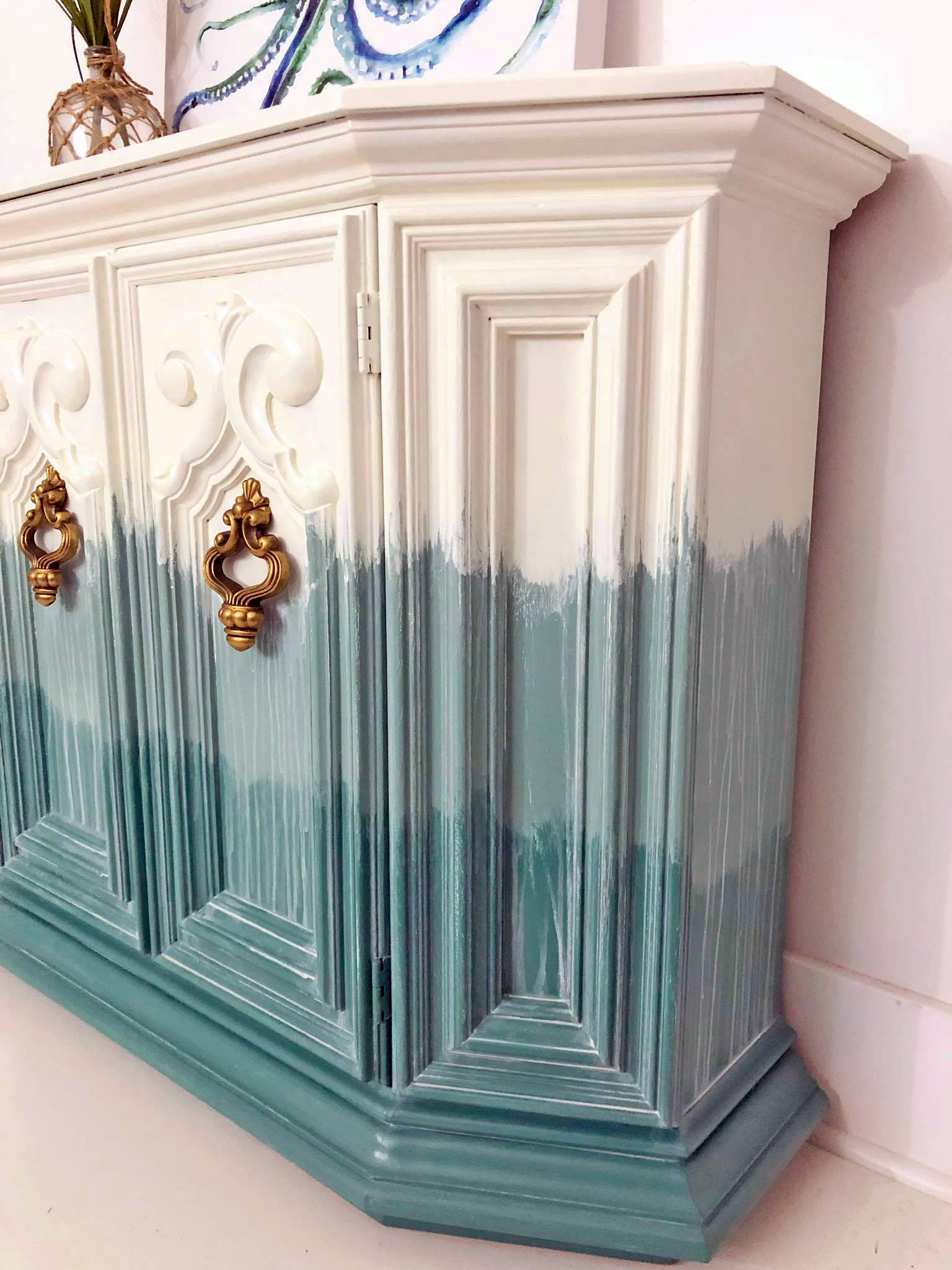 Beachy Blended Boho Cabinet General Finishes Design Center