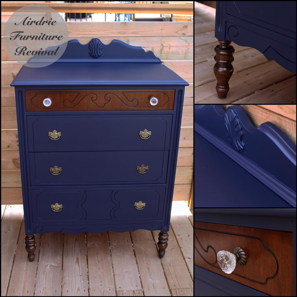 Clean Chic Dresser In Coastal Blue Milk Paint General