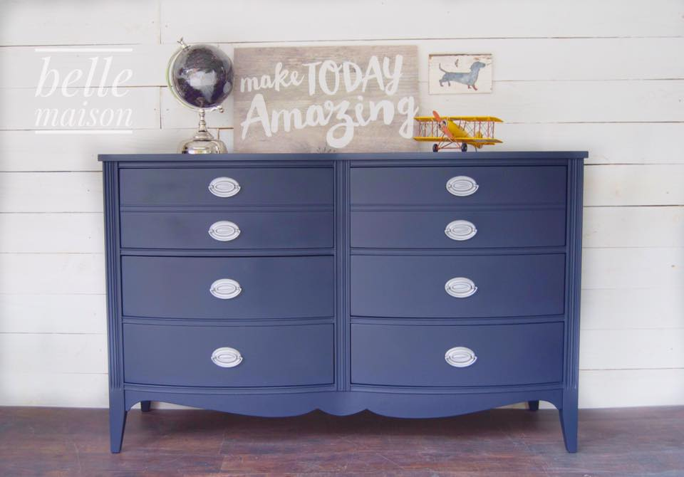Dashing Dresser In Coastal Blue General Finishes Design