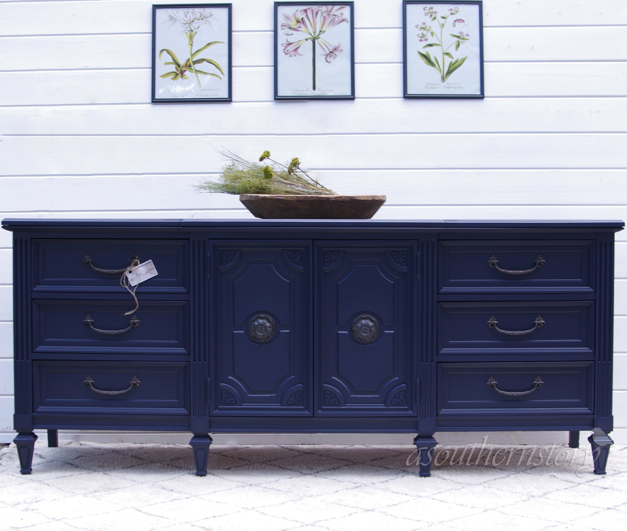 Show Stopper Decked In Coastal Blue General Finishes