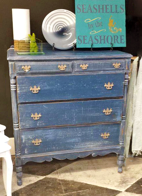Fab Quot Faded Denim Quot Dresser General Finishes Design Center