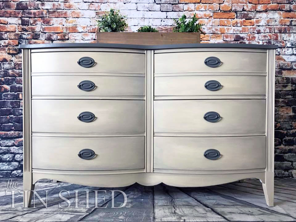 Custom Mixed Neutral Dresser General Finishes Design Center