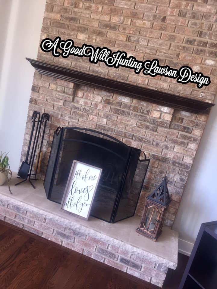 Dark Chocolate Fireplace Mantle General Finishes Design