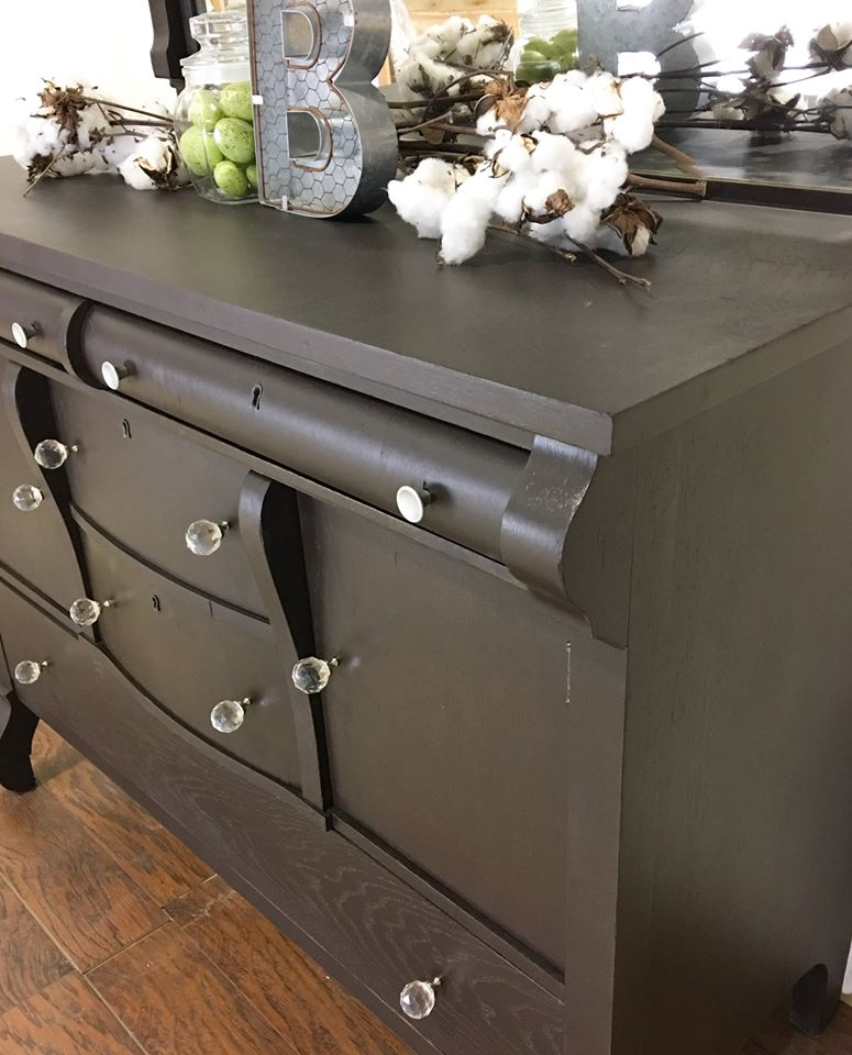 Buffet In Dark Chocolate Milk Paint General Finishes