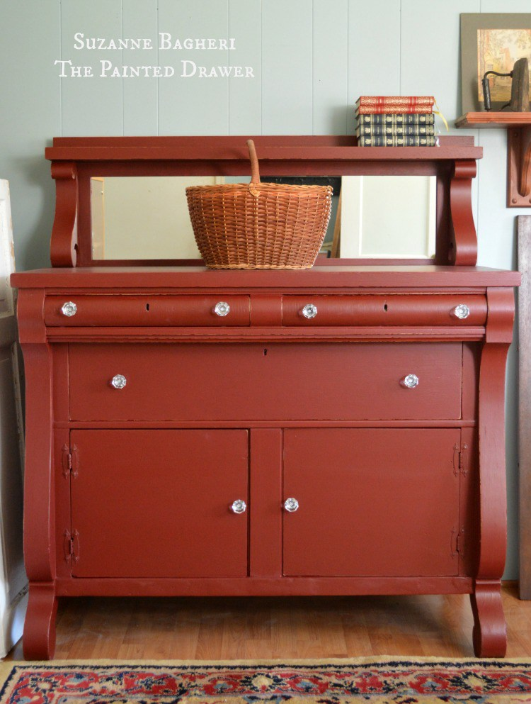 Rembrandt Red Empire Chest General Finishes Design Center
