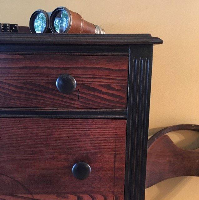 Custom Gel Stain Colored Dresser General Finishes Design