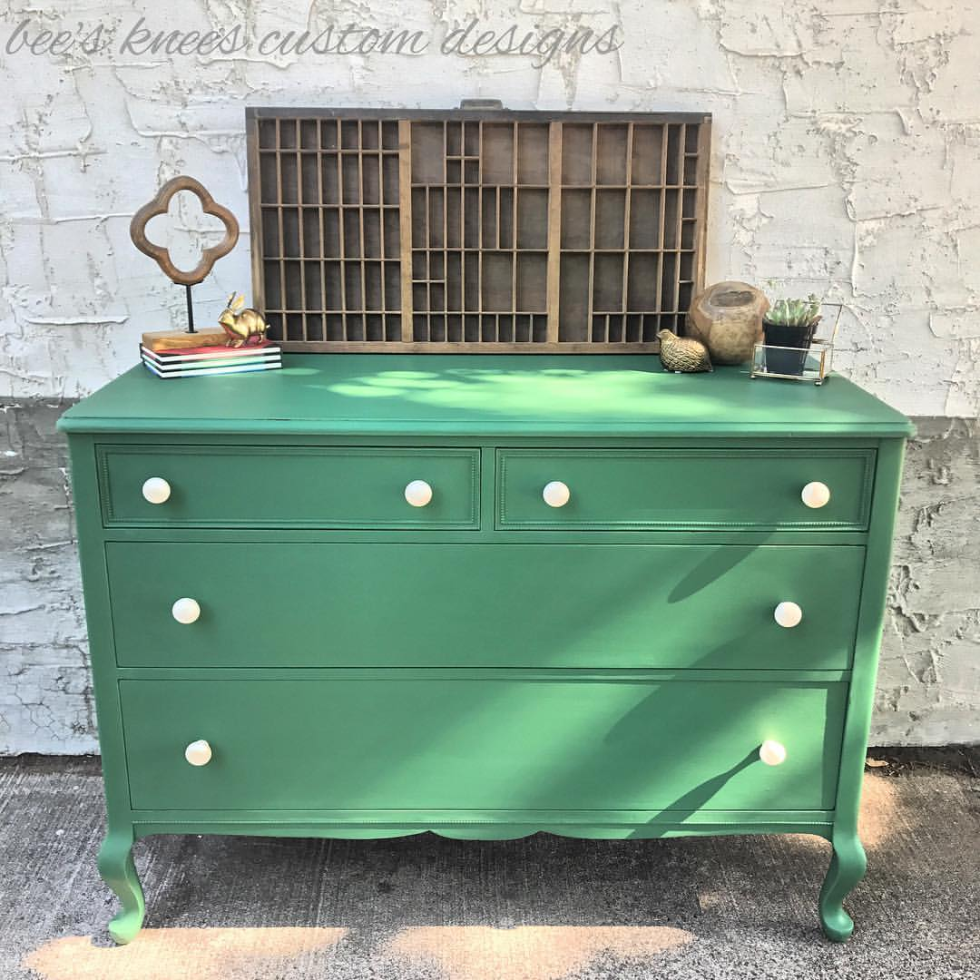 Dresser In Custom Color Green General Finishes Design Center