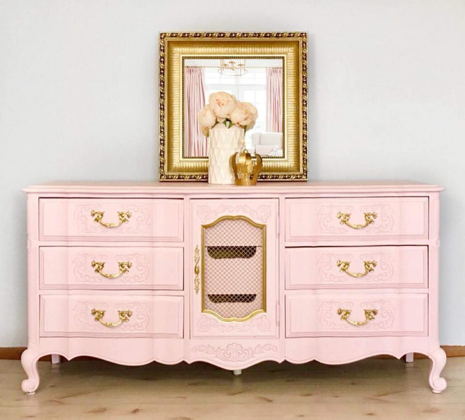 French provincial set in custom color pink general for French provincial colors