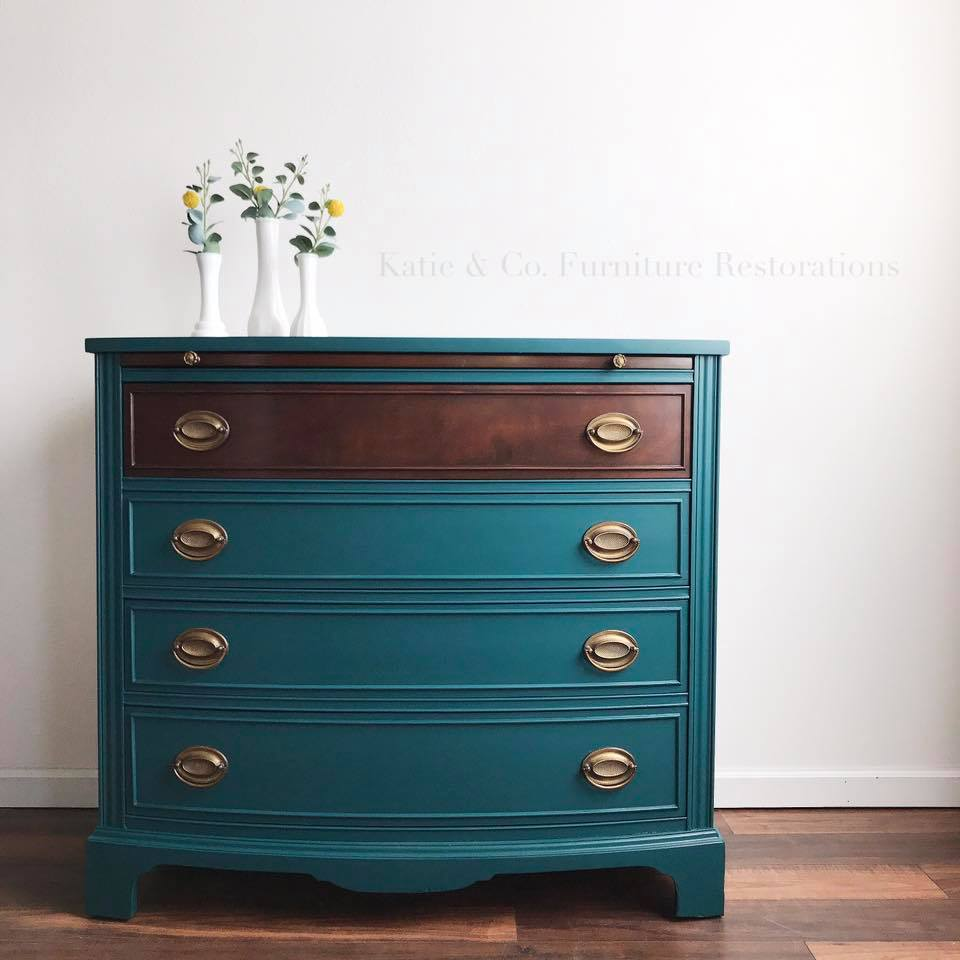 Beautiful Teal Dresser General Finishes Design Center
